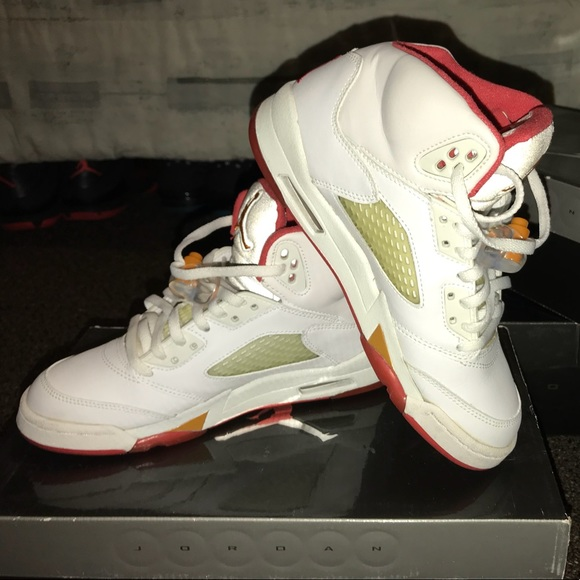 3f4e3cbc187 Jordan Shoes | Rare Retro 5 Sunset Edition 2006 | Poshmark